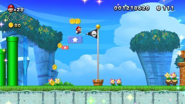 Review: New Super Mario Bros  U