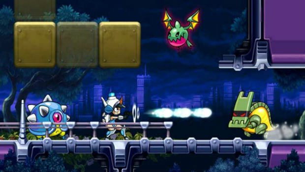 Review: Mighty Switch Force! Hyper Drive Edition Review (Wii U eShop) MSF3-620x