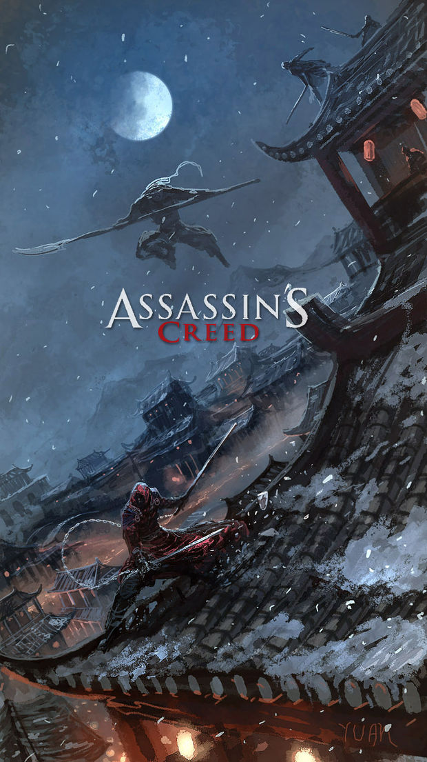 Amazing Fan Art Depicts Assassin S Creed Set In China