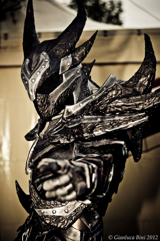 how to make skyrim daedric armor in real life