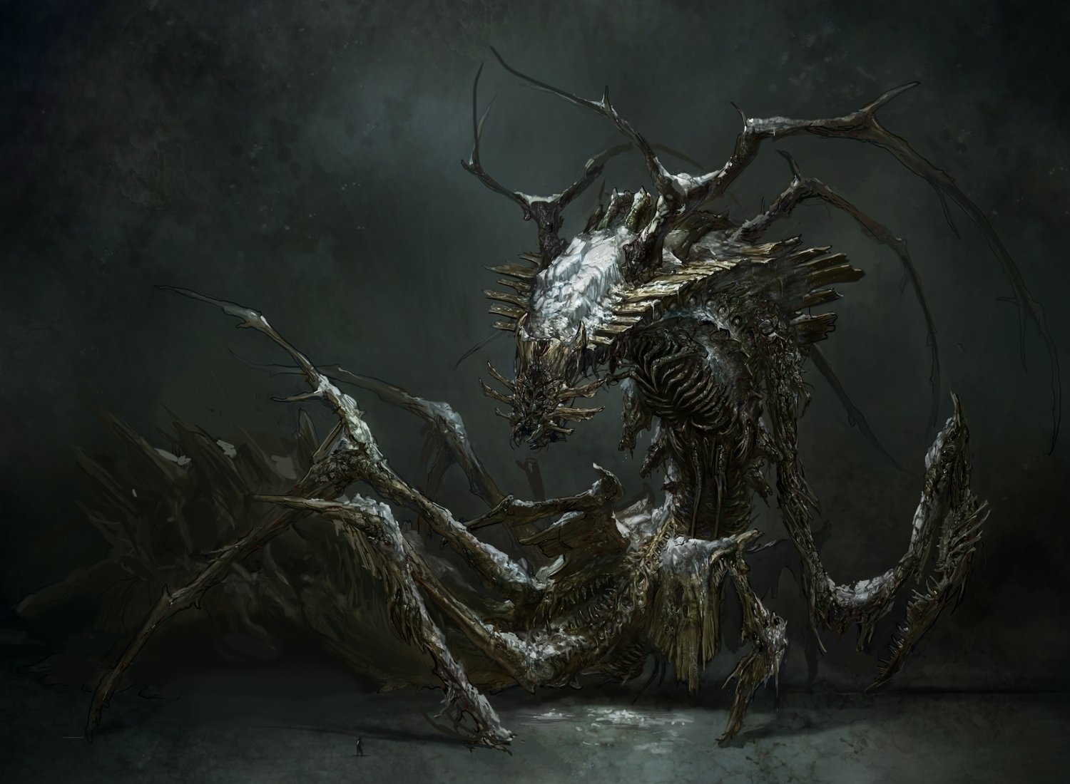 How the dead space 3 team created new hellish monsters for Space concept