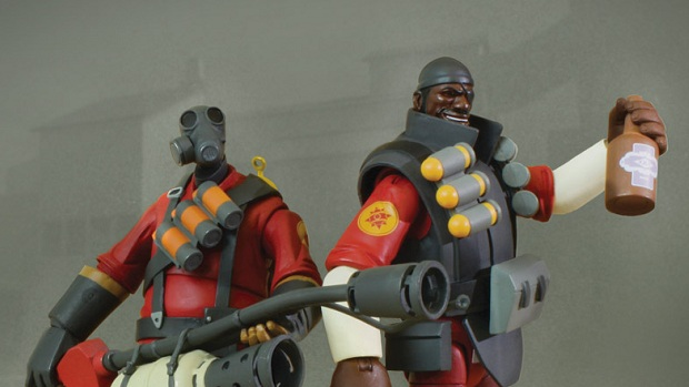 Team Fortress 2 Pyro And Demoman Figures Released
