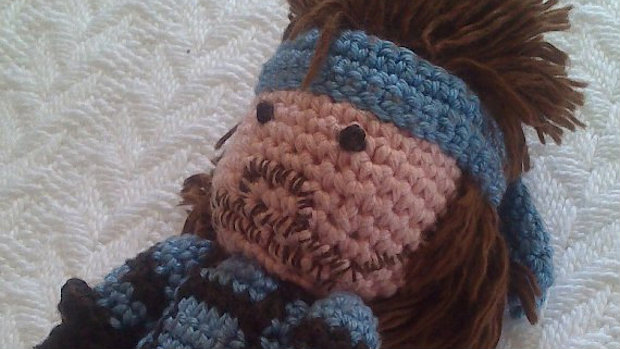 Solid Snake Amigurumi : Amigurumi Snake is a lot less solid, tons more adorable ...