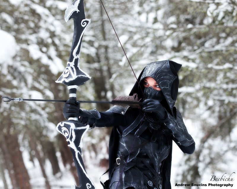 Skyrim S Nightingale Armor Looks Great In Real Life