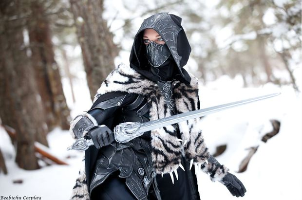 Skyrim S Nightingale Armor Looks Great In Real Life