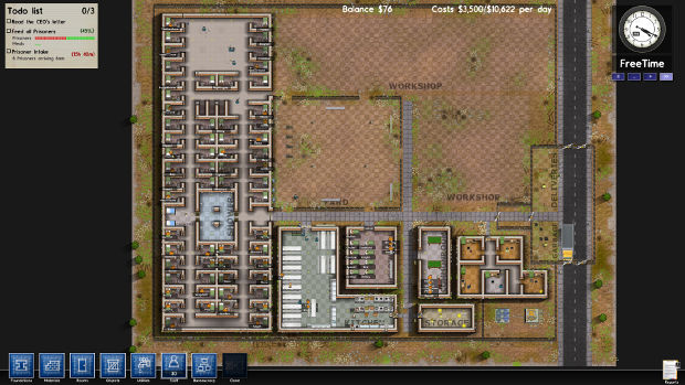 How To Unlock New Rooms In Prison Architect