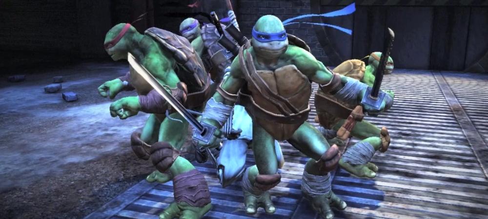 New teenage mutant ninja turtles game might be good