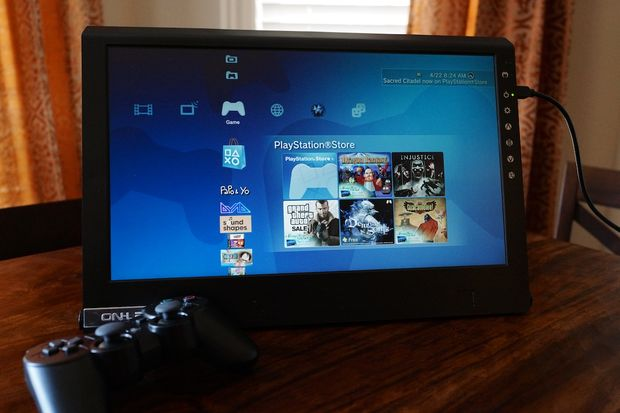 Portable Computer Screen : Review on lap m portable lcd gaming monitor