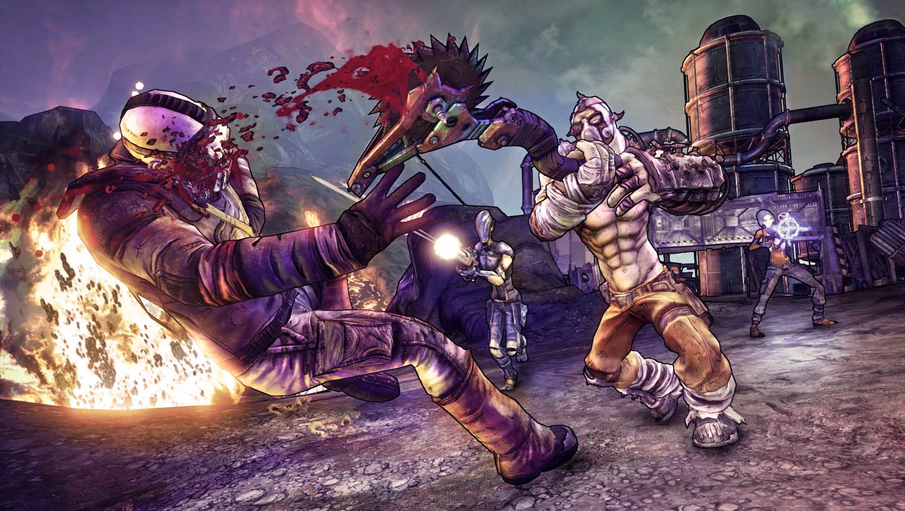 Krieg The Psycho Borderlands 2 Wallpaper By: Any Badass Krieg Wallpapers? : Borderlands