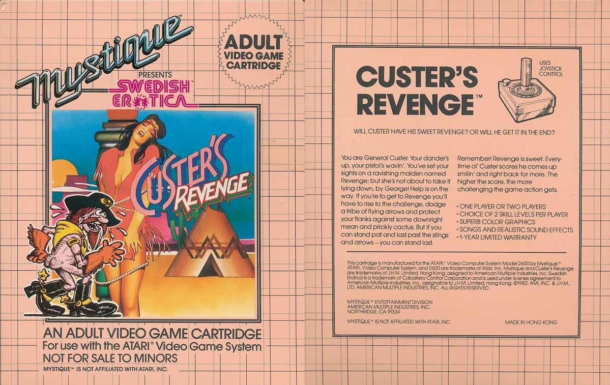 most sexual atari video games ever