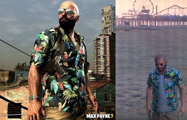 Make GTA V's Michael look just like Max Payne