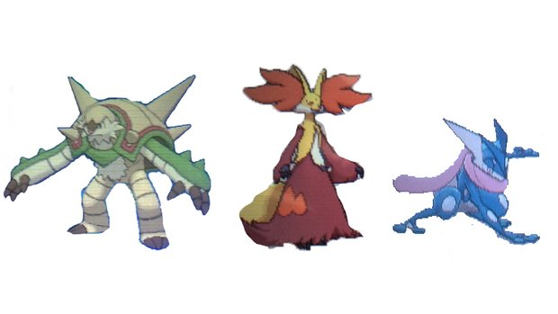 Pokemon X And Y ...X And Y Starter Evolutions