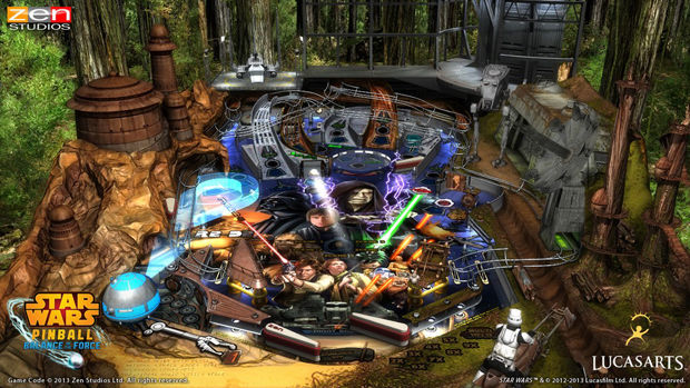 Review: Star Wars Pinball: Balance of the Force