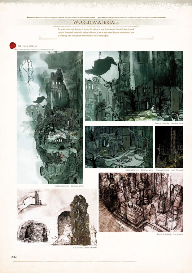 Review dark souls design works for Dark souls 3 architecture
