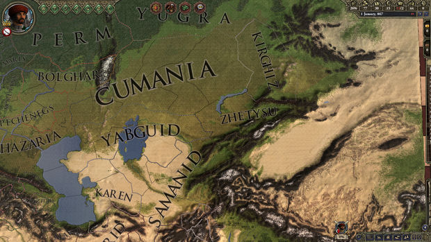 Crusader Kings II expansion Rajas of India opens the map