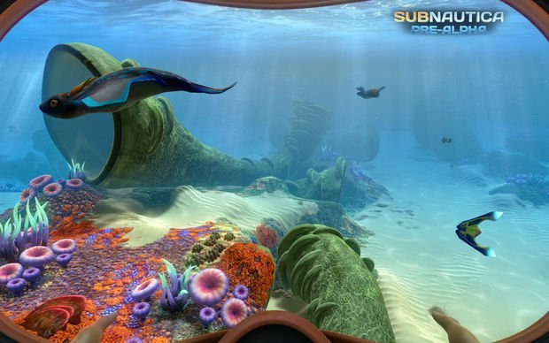Subnautica looks to be the Minecraft of underwater exploration
