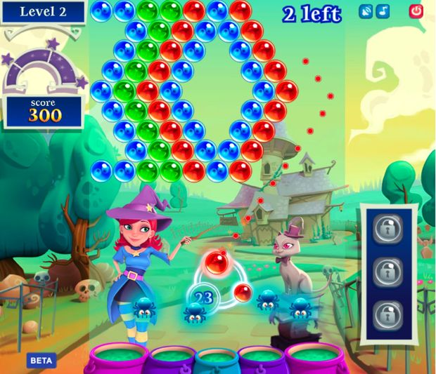 Bubble witch saga 2 online game