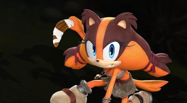 Sonic Boom New Character Sticks