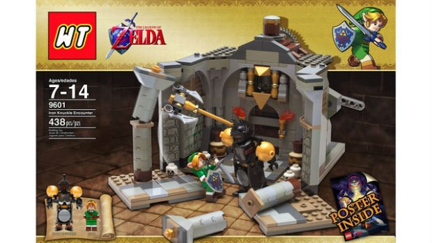 The Legend Of Zelda LEGO Set Fails Approval