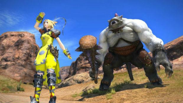 A grand social experiment: Final Fantasy XIV's monster hunts