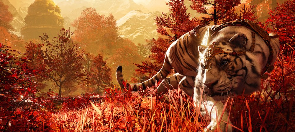 Command A Tiger That Can Turn Invisible In Far Cry 4