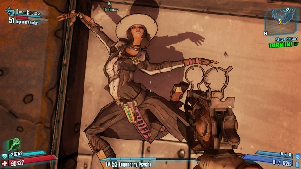 To all you would-be Borderlands cowboys and cowgirls, I have dibs on