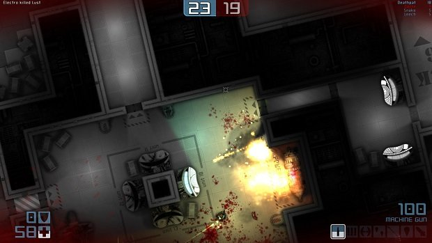 Sports Games For Ps3 : Top down shooter daedalus no escape has a demo on steam
