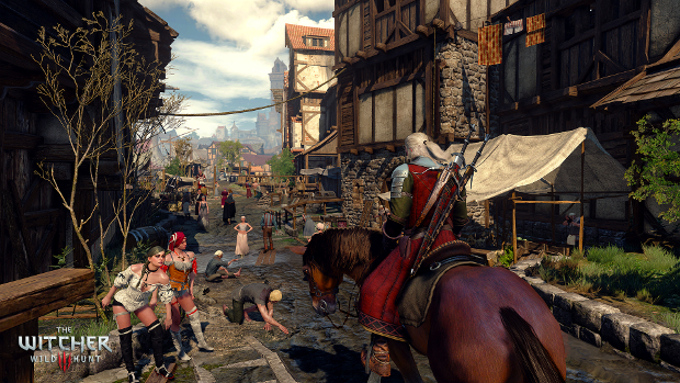 My first four hours with The Witcher 3: Wild Hunt