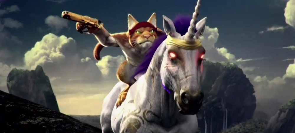 You 39 re a unicorn riding cat in the new trials fusion dlc - Trial fusion unicorn ...
