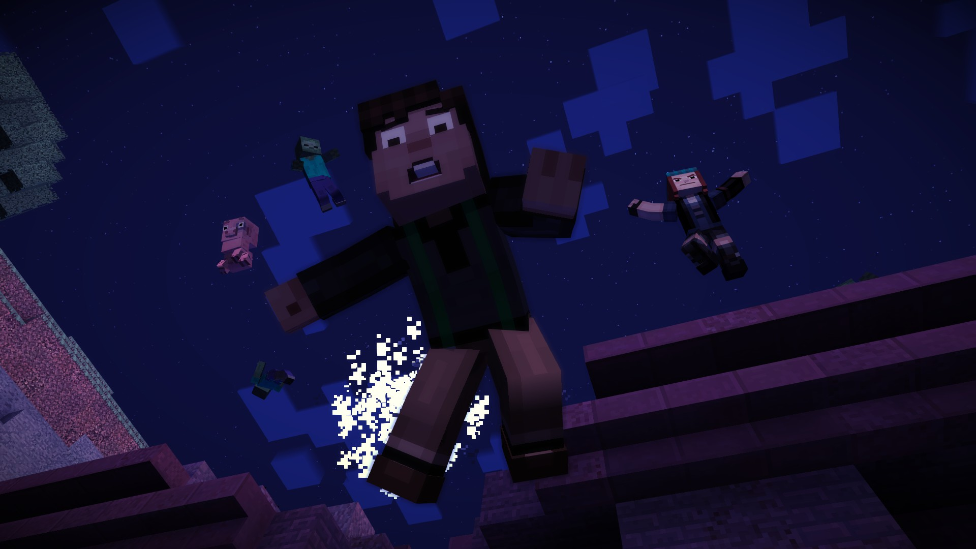Review Minecraft Story Mode The Order Of The Stone
