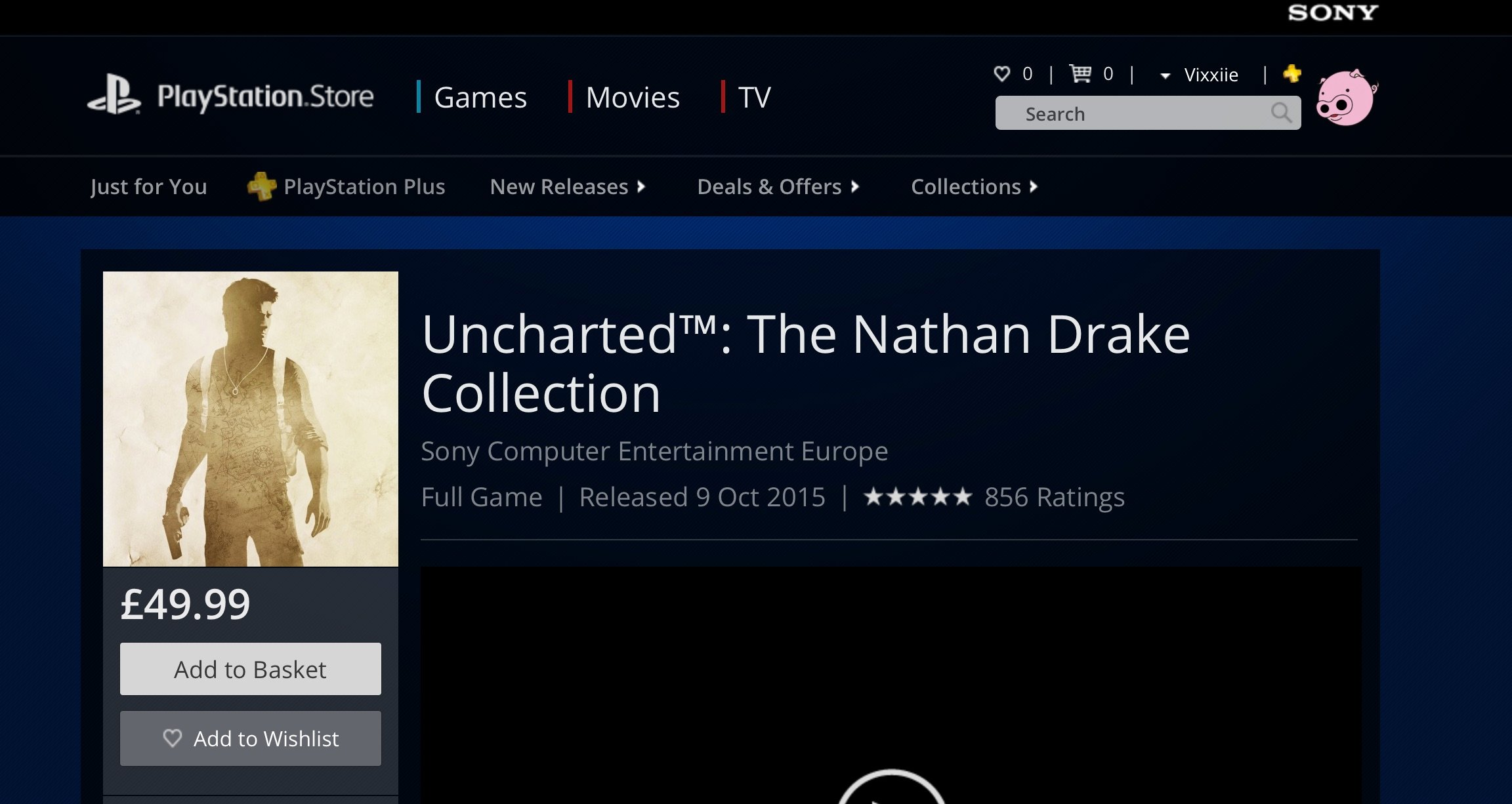 You can finally make a wishlist on the PSN Store