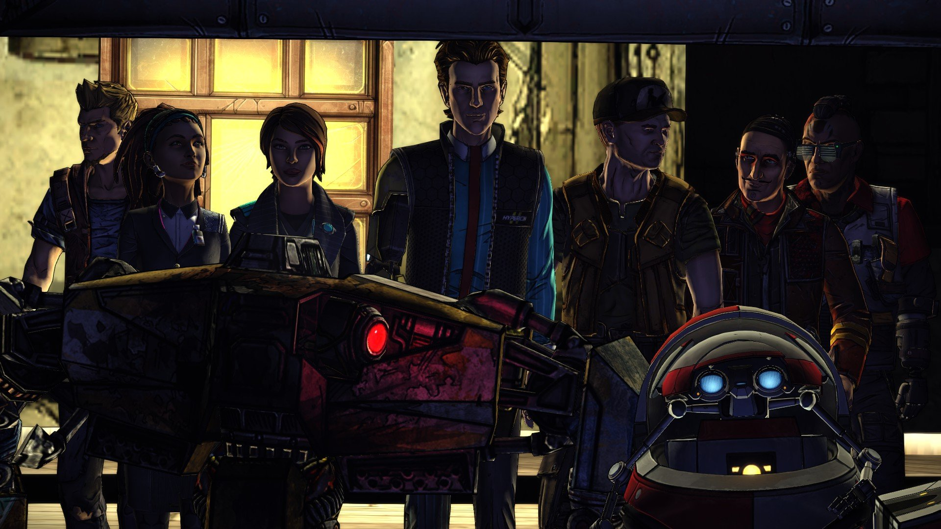 If Tales From The Borderlands Characters Were Vault