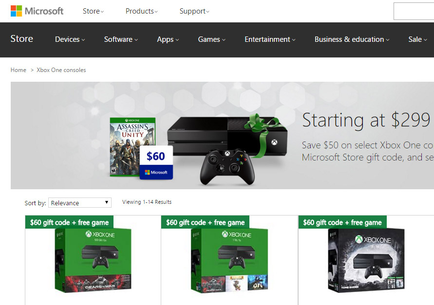 Discounts average $45 off with a Xbox promo code or coupon. 50 Xbox coupons now on RetailMeNot. December sales and deals end soon! Up to 75% Off Xbox Store With Xbox Live Gold Membership. 12 uses today. Get Deal. See Details. Xbox is a gaming and entertainment console manufactured by Microsoft. The Xbox is found in 4GB SSD.