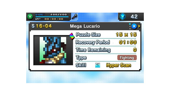 Review pokemon picross for Pokemon picross mural 1
