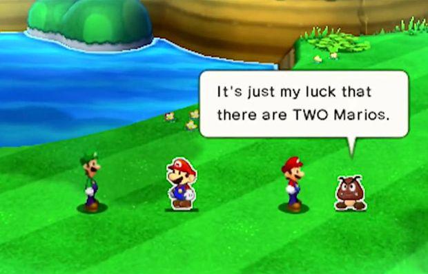 Review Mario Luigi Paper Jam
