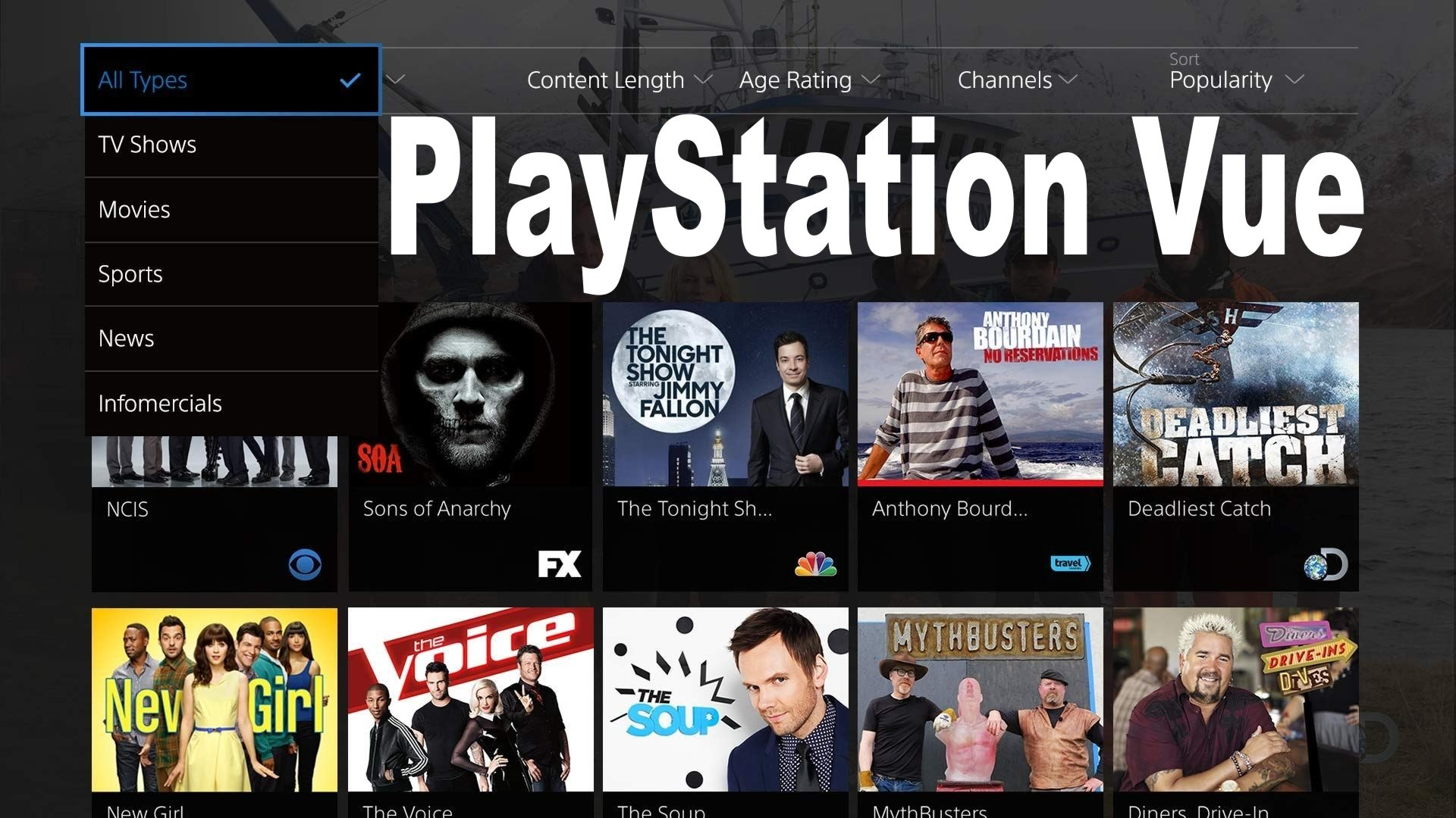 PlayStation Vue is off...