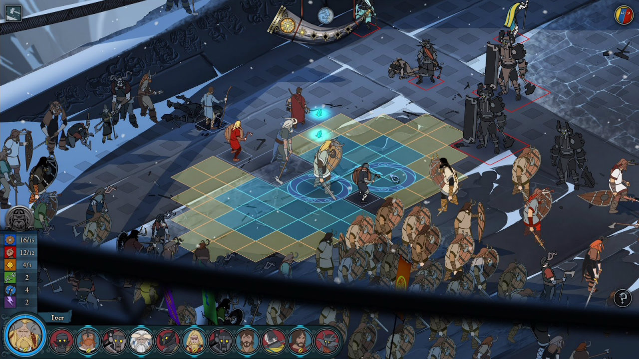 The banner saga feels at home on ps4 for Ps4 at home