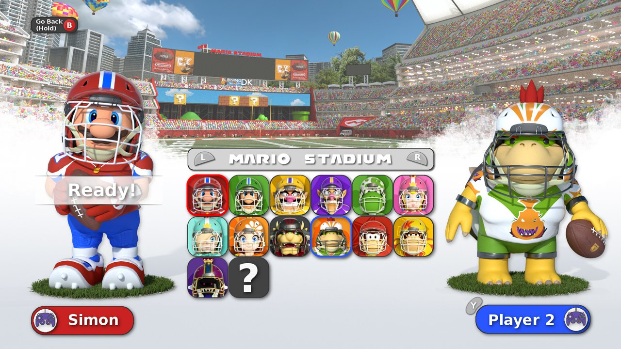 Okay, this fan-made Mario Football mock-up is great