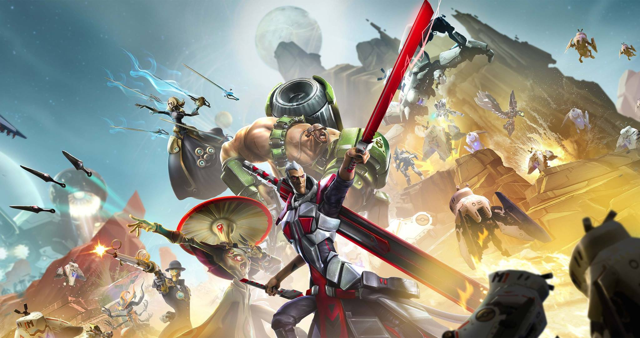 Review: Battleborn screenshot