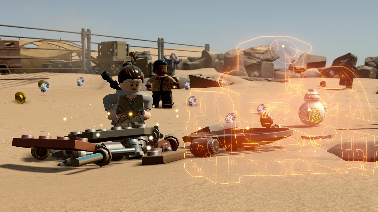 Lego Star Wars: The Force Awakens looks better than expected screenshot