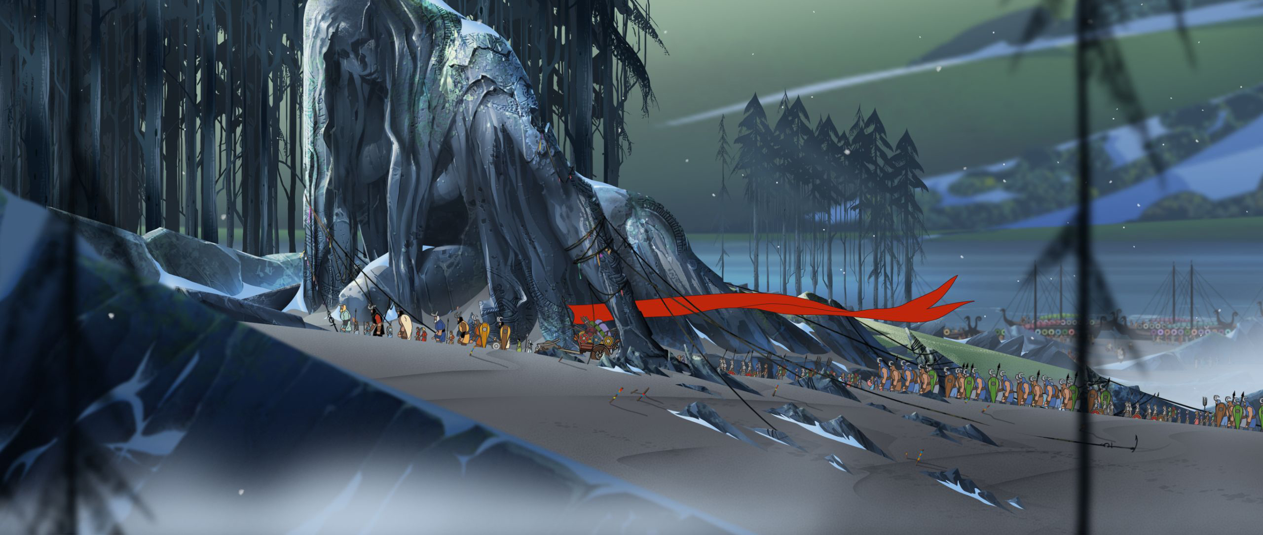 The Banner Saga Wallpaper: Review: The Banner Saga 2