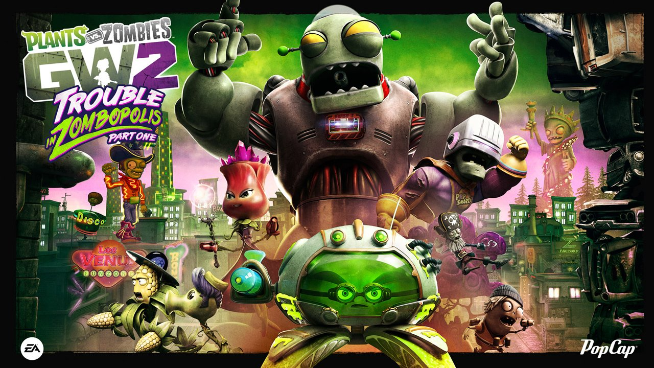 Garden warfare 2 has a new map and characters for Plants vs zombies garden warfare characters