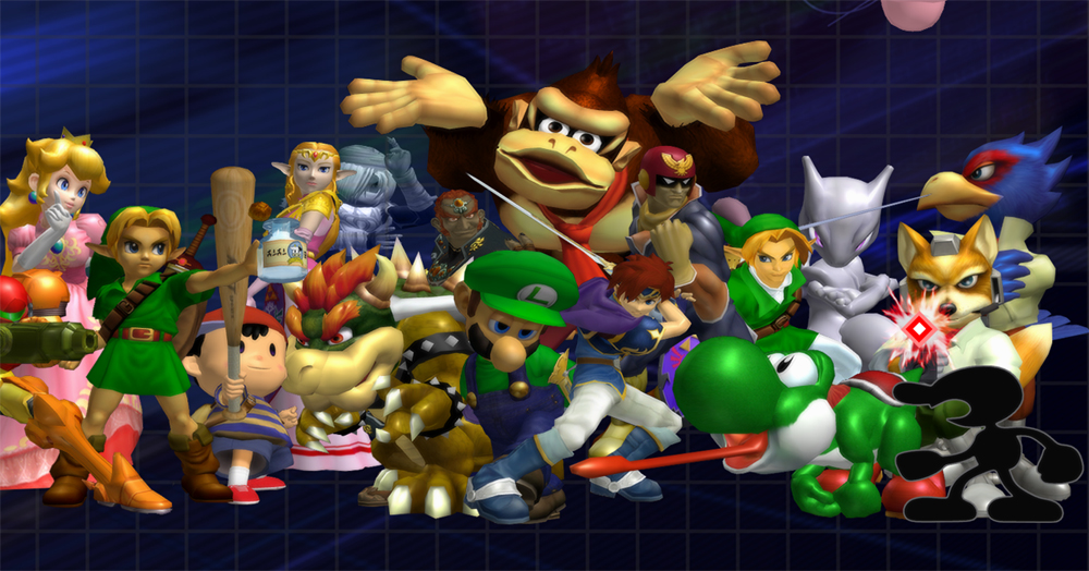 Project: B adds tripping to Super Smash Bros. Melee screenshot