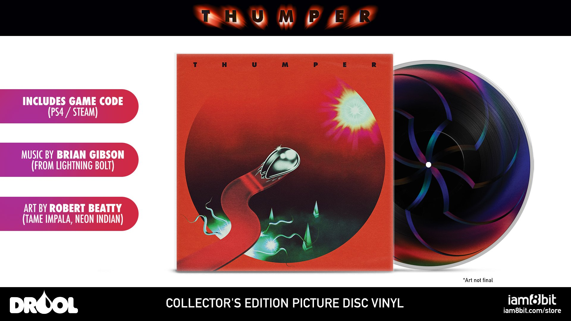 Unsettling Rhythm Game Thumper Hits Pc Ps4 This October