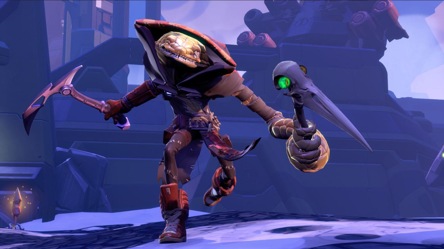 Battleborn's Pendles is a slippery sneak screenshot