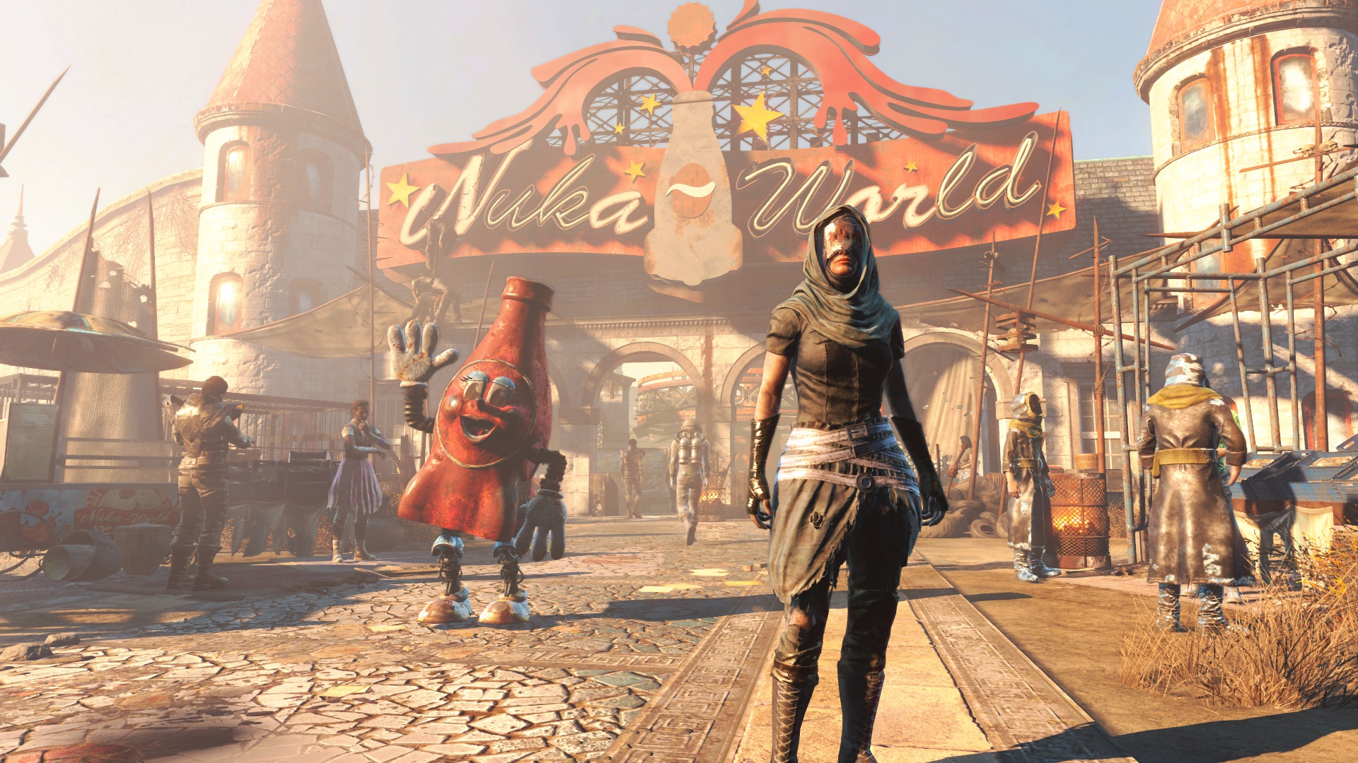 fallout 4 39 s final add on nuka world isn 39 t all fun and games. Black Bedroom Furniture Sets. Home Design Ideas