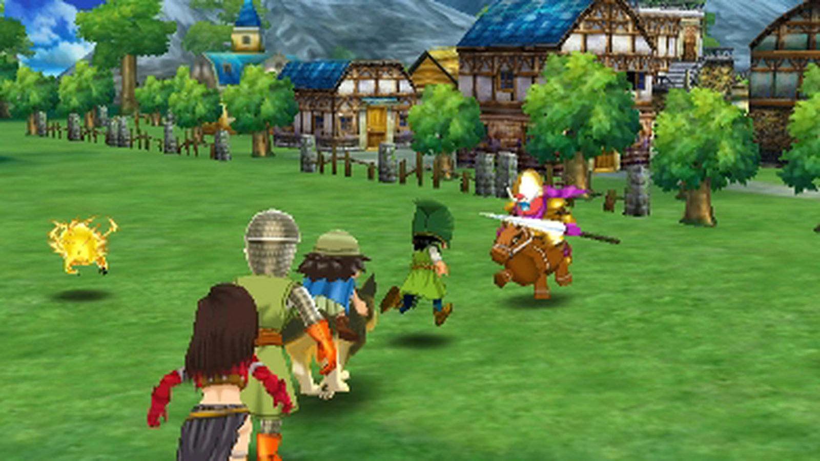 Review Dragon Quest Vii Fragments Of The Forgotten Past 3ds
