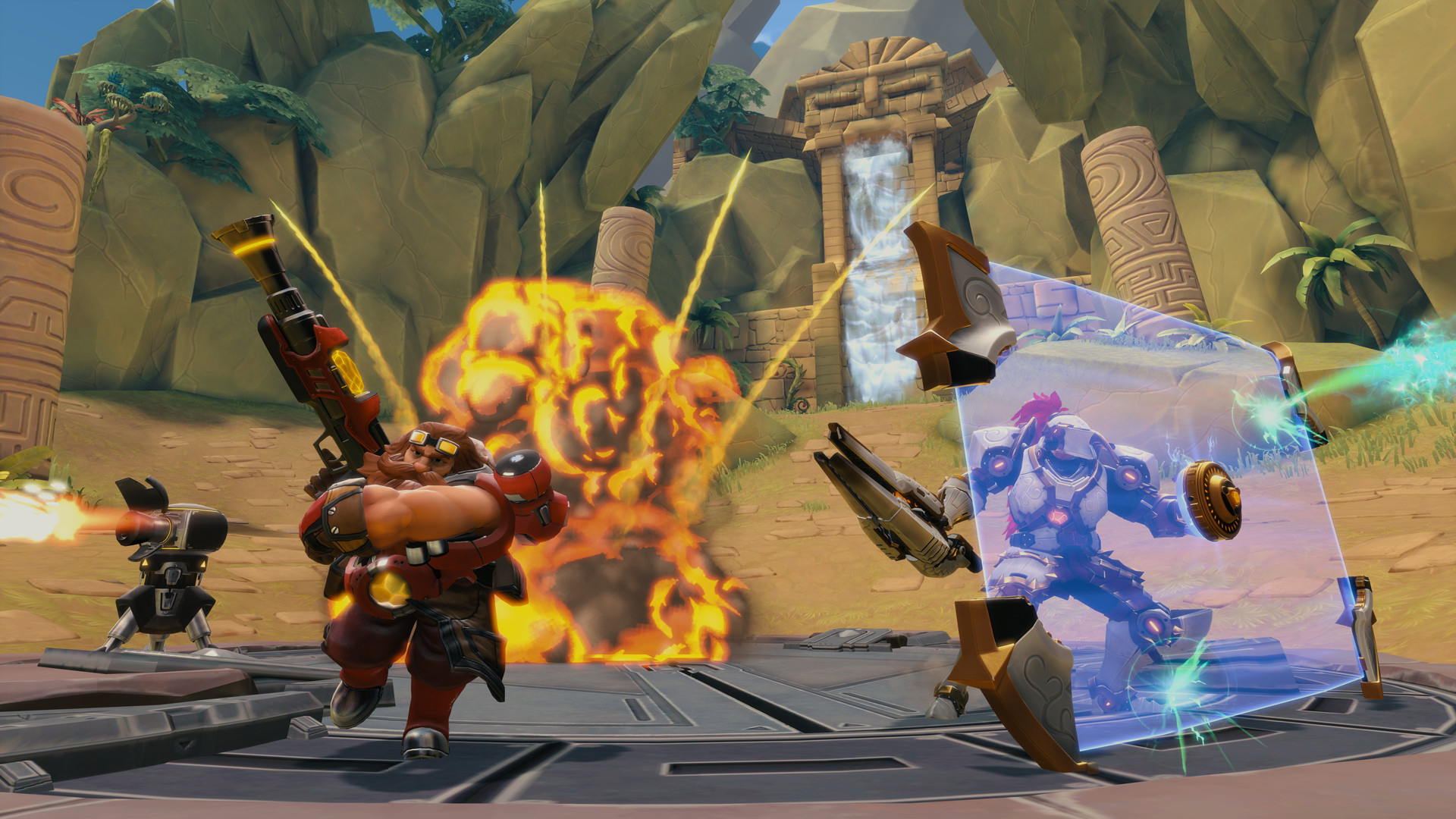 Hi-Rez Studios' familiar-looking team shooter Paladins hits open beta screenshot
