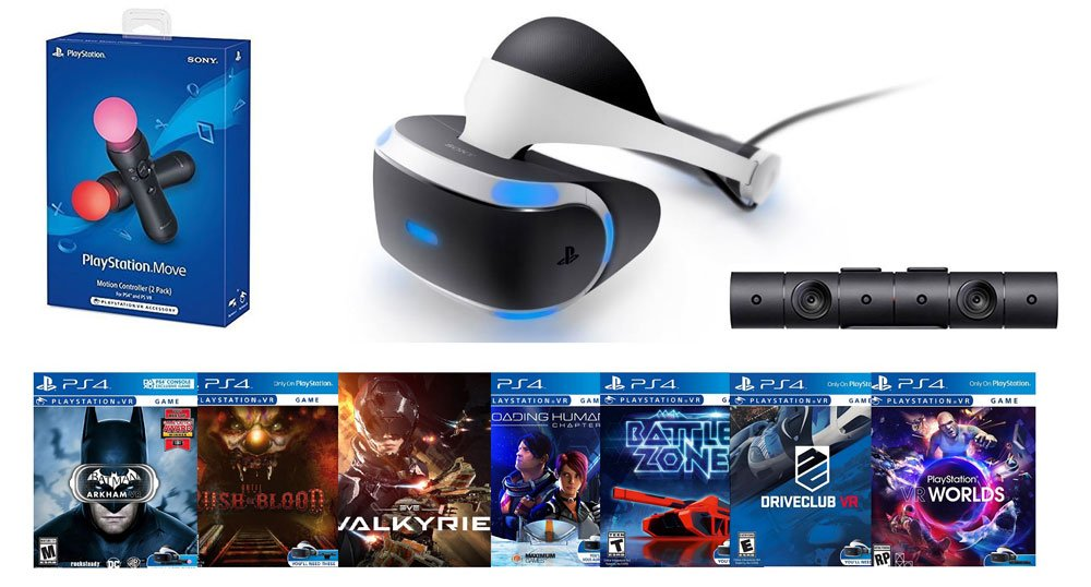 There's an $889 PlayStation VR ultimate bundle at GameStop