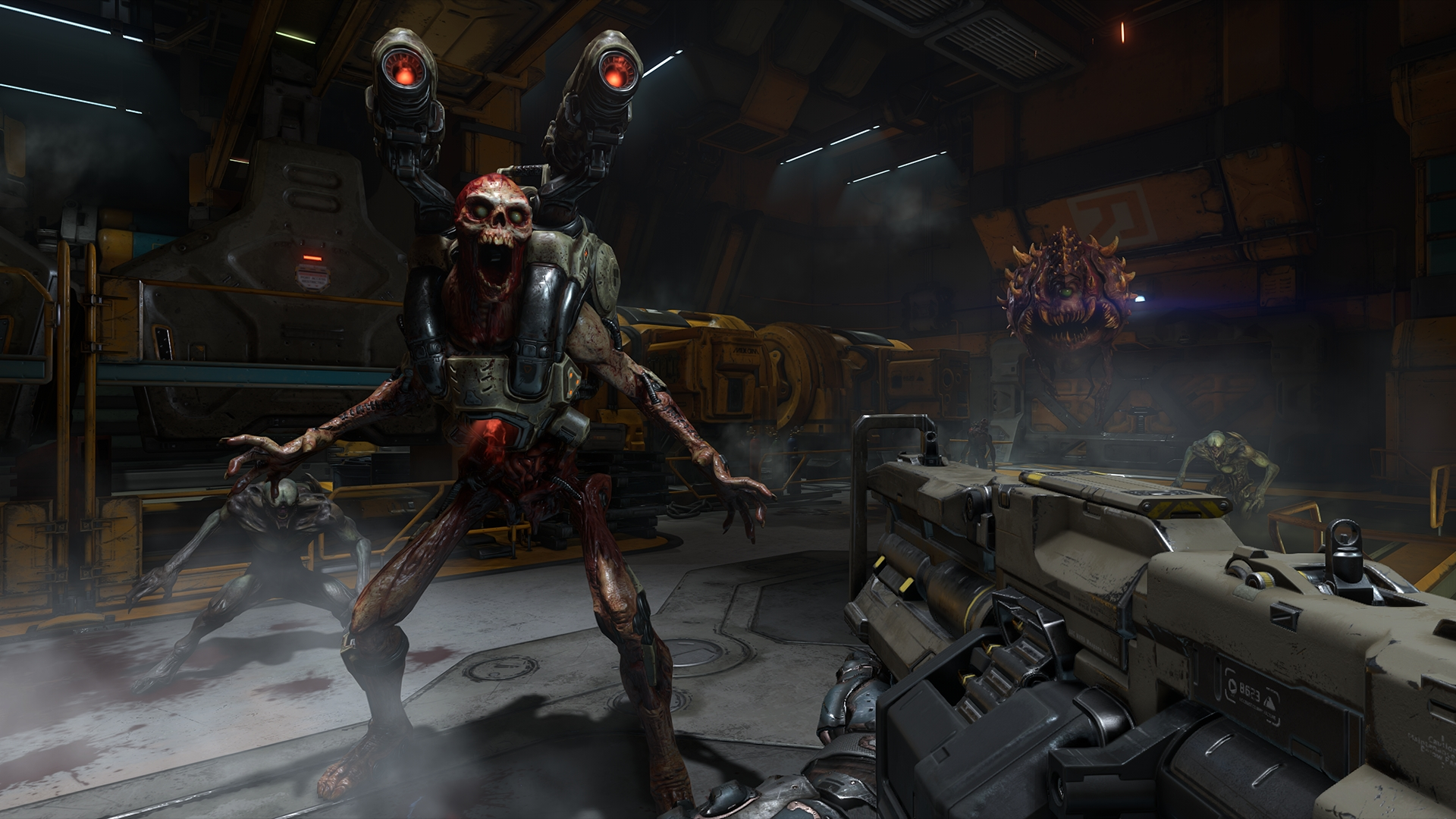 Doom's Arcade Mode is the ideal way to play the campaign